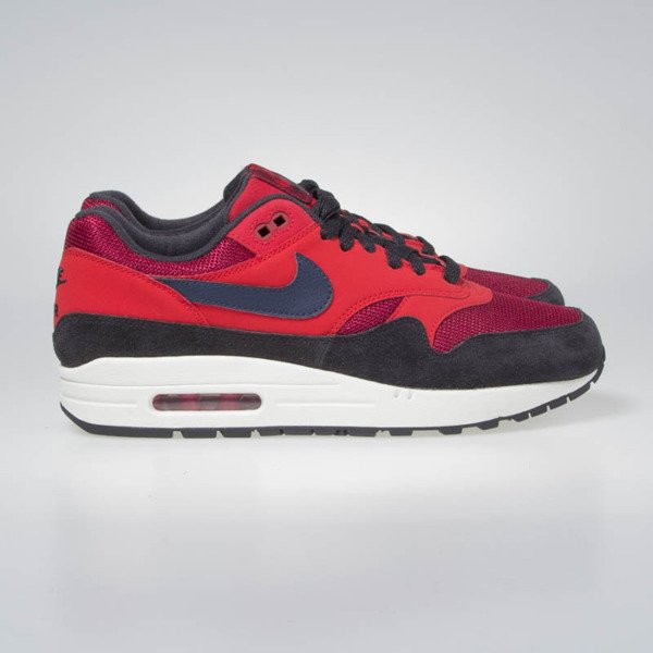 Nike sneakers Air Max 1 red crush/midnight navy (AH8145-600)