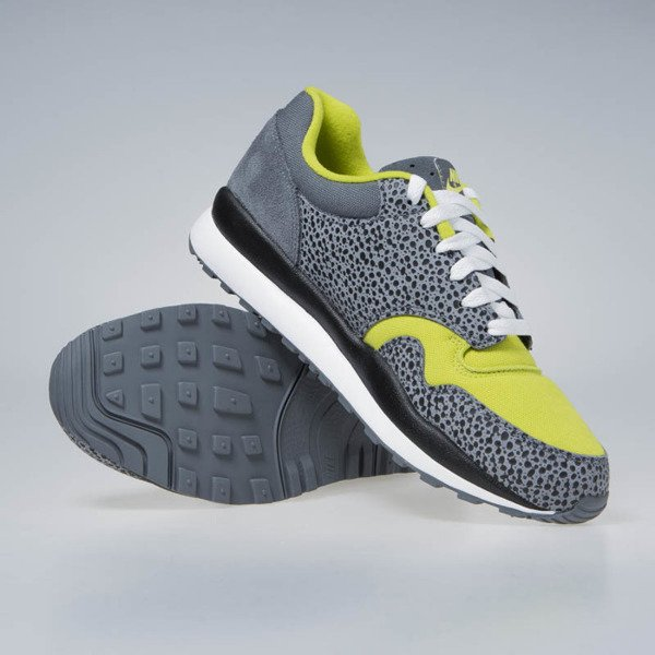 Nike sneakers Air Safari SE flint grey/white-bright cactus (AO3298-001)