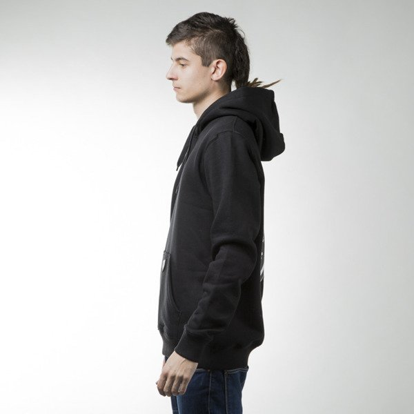 Prosto KLASYK sweatshirt  Backup hoody black