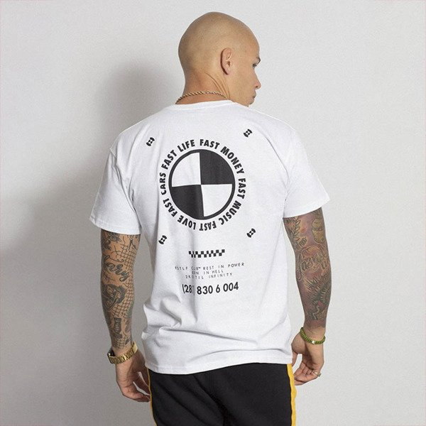 R.I.P. T-shirt Fast Life Club white