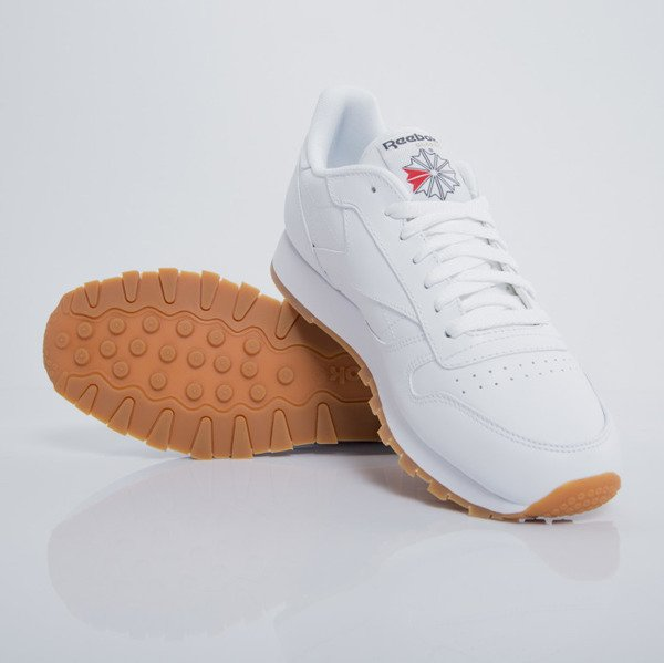 526ee7d760e reebok classic leather trainers in white 49799 off 54% - www ...