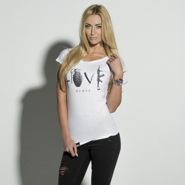Saint Mass t-shirt Love white