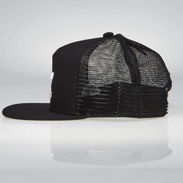 0b35a74951e ... Snapback Adidas Originals Trefoil Trucker Cap black BK7308 ...
