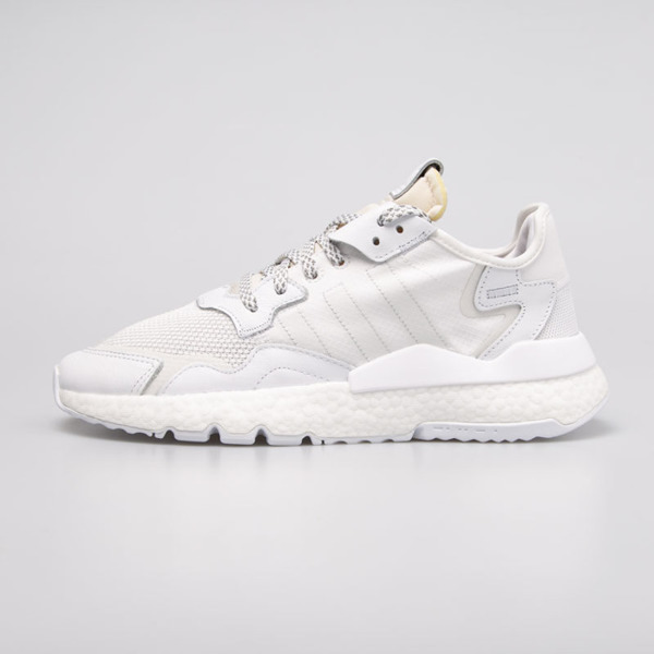 Sneakers Adidas Originals Nite Jogger ftwr white / crystal white / grey one (BD7676)