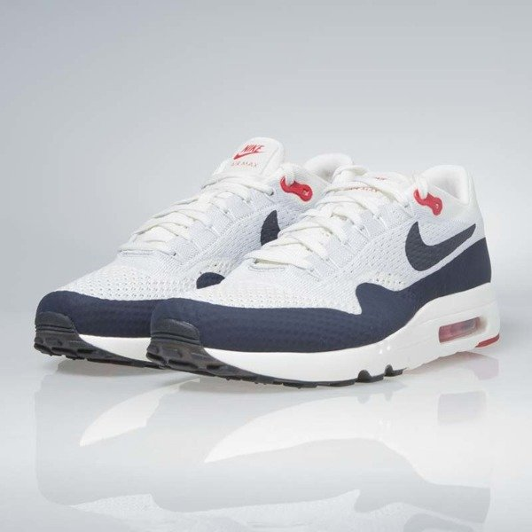 huge discount bfb48 4b874 Sneakers Nike Air Max 1 Ultra 2.0 Flyknit sail   obsidian-wolf grey 875942-  ...