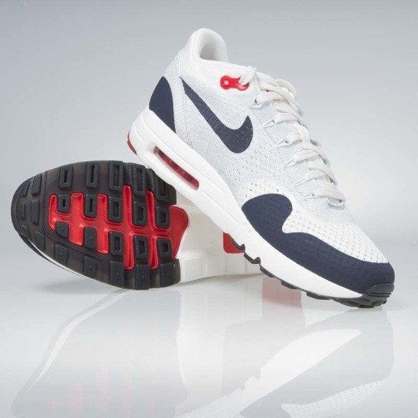 uk availability ec581 a31c5 ... Sneakers Nike Air Max 1 Ultra 2.0 Flyknit sail   obsidian-wolf grey  875942- ...