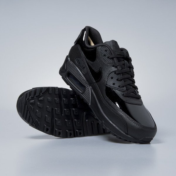 Sneakers Nike WMNS Air Max 90 Leather black / black-black 921304-002
