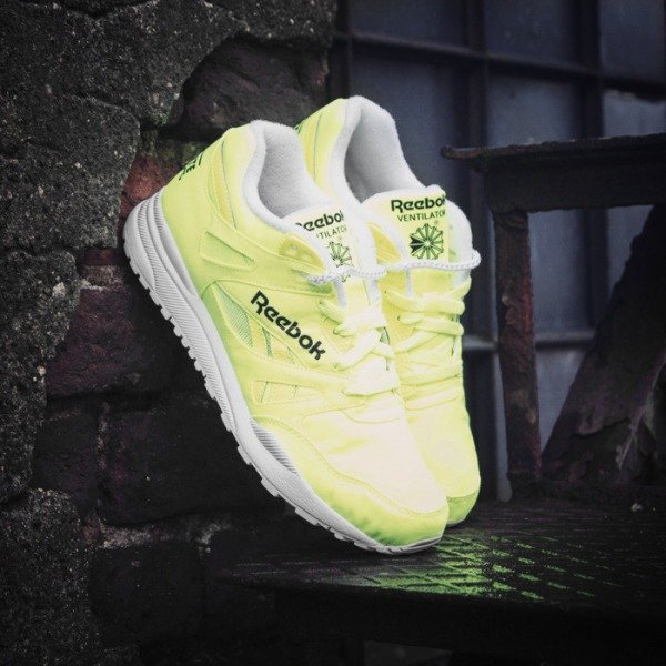 e16603e76b6305 Sneakers Reebok Classic VENTILATOR DG solar yellow   white   black (M46607)  ...