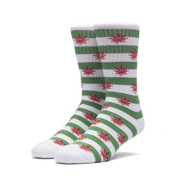 Socks HUF Plantlife Candy Cane Sock - green