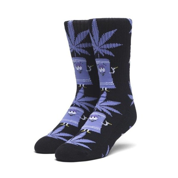 Socks HUF SP Towelie Plantlife Socks - black