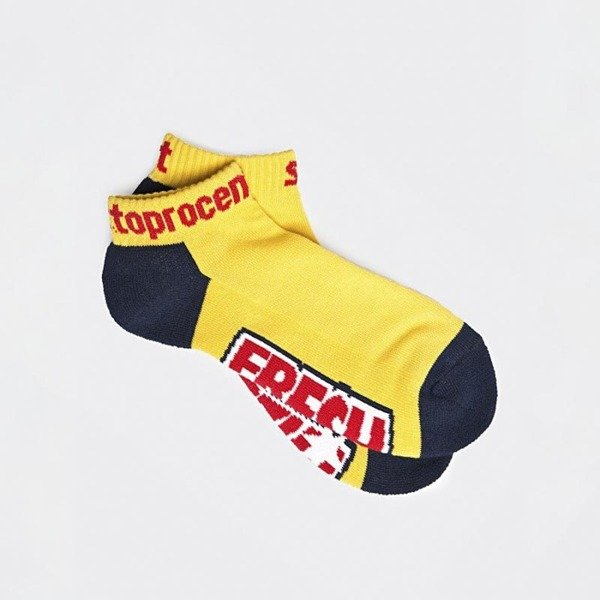 Socks Stoprocent SKK Fresh yellow