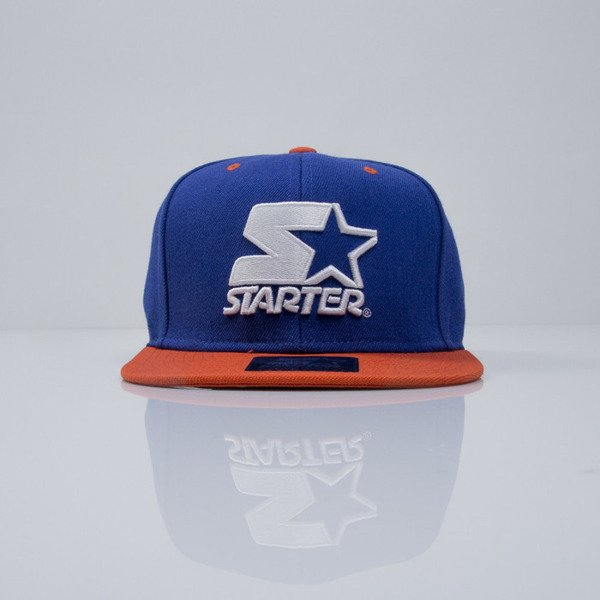 Starter cap Icon 3Tone navy/orange