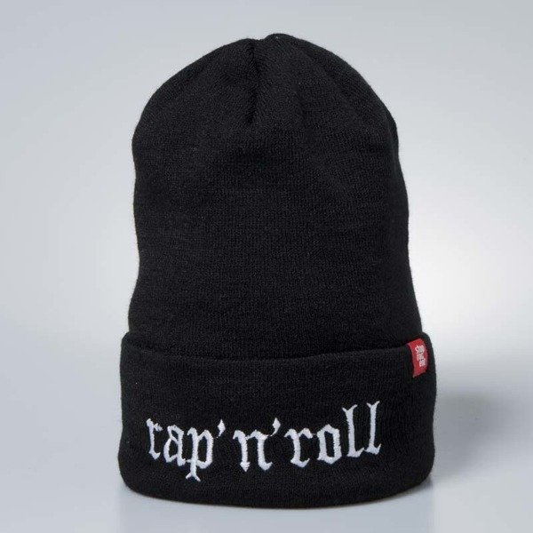 Stoprocent beanie Rap'N'Roll black / white