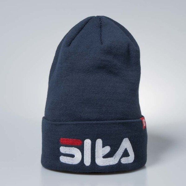 Stoprocent beanie Siła navy blue