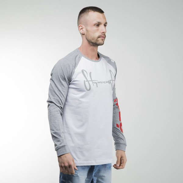 Stoprocent longsleeve Tag CS Sleeve melange / white