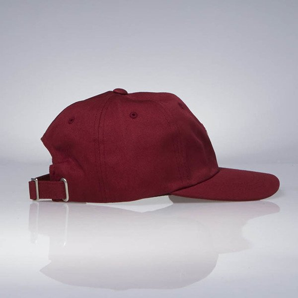Stussy strapback Smooth Stock Low Cap red