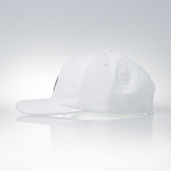 ... Stussy strapback cap Stock Pique white ... 1d68ca4a5a0