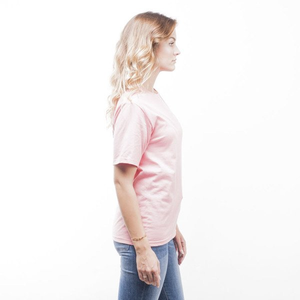 Stussy t-shirt Basic rose WMNS