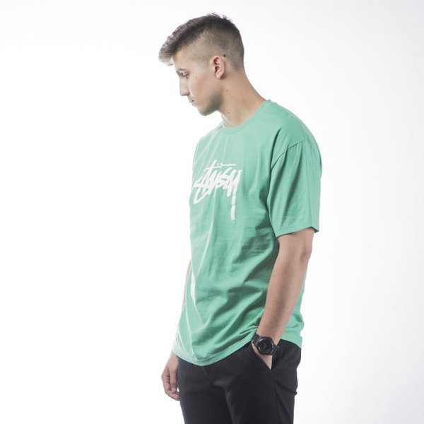 Stussy t-shirt Stock green
