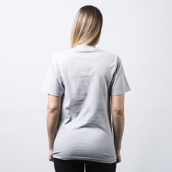 Stussy t-shirt Stock grey heather WMNS