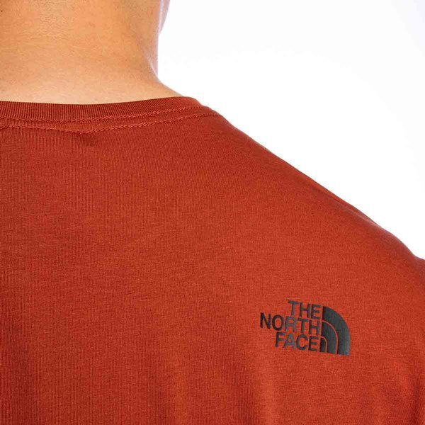 The North Face T-shirt M S/S Easy Tee brandy brown