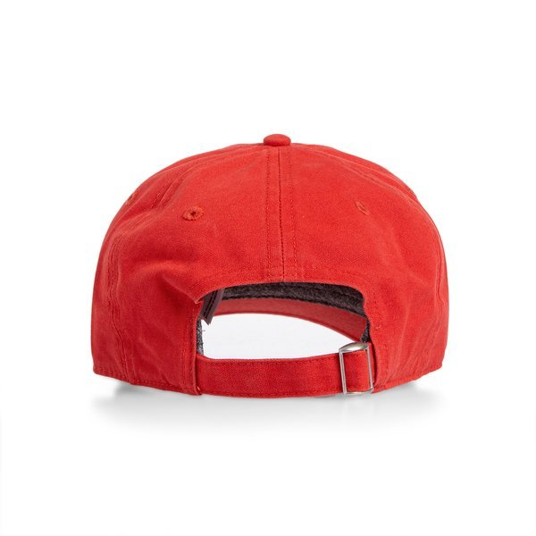 The North Face Washed Norm Hat sunbaked red
