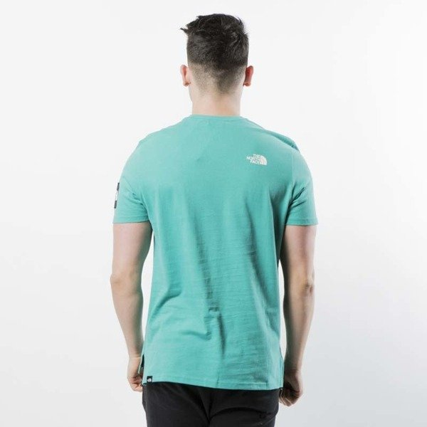 d4afb93d7206 ... The North Face - t-shirt M S S Fine 2 Tee porcelain green T93BP7YCV ...