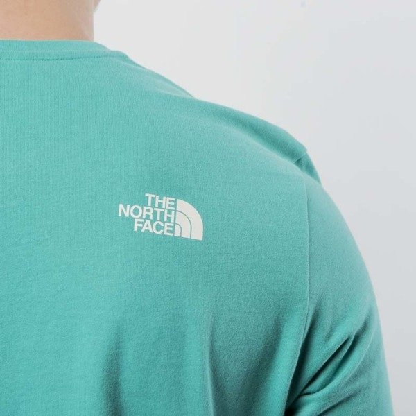 42e6ccea9d72 The North Face - t-shirt M S S Fine 2 Tee porcelain green T93BP7YCV ...