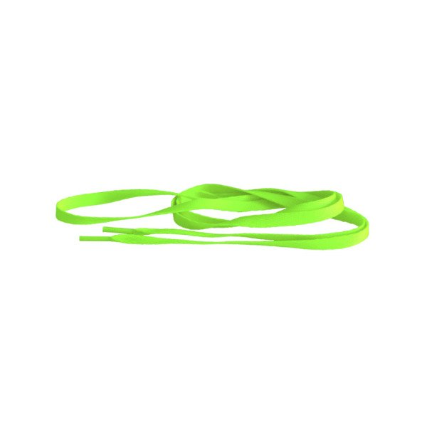 Tubelaces Silver 120cm neon green 10153