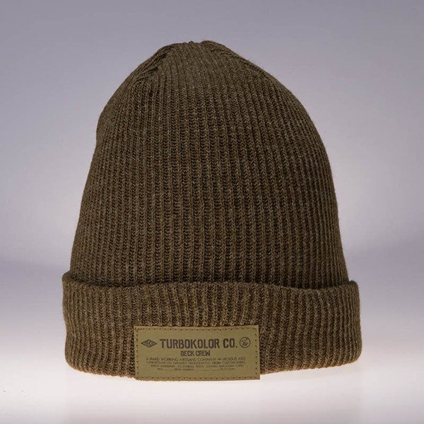 Turbokolor Fisherman Beanie khaki