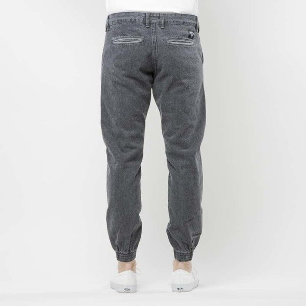 Turbokolor Trainer Chinos black denim washed  SS17