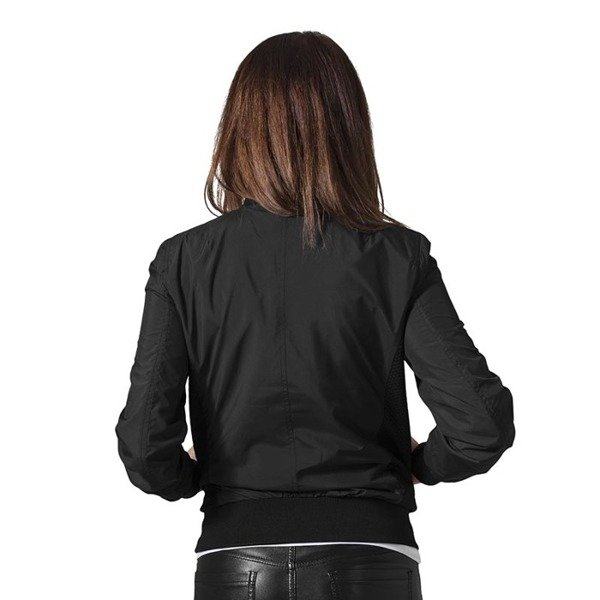 Urban Classics Ladies Light Bomber Jacket WMNS black