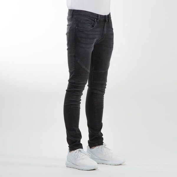 Urban Classics Slim Fit Biker Jeans black TB1436
