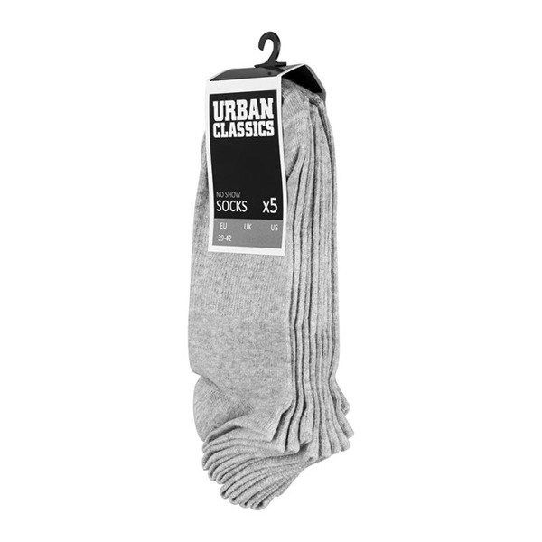 Urban Classics Sport Socks 3-Pack grey