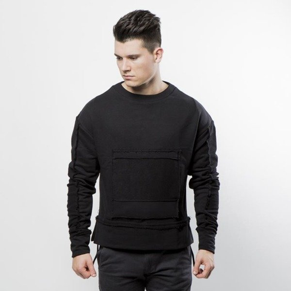 Urban Flavours Mental Pocket Crewneck black