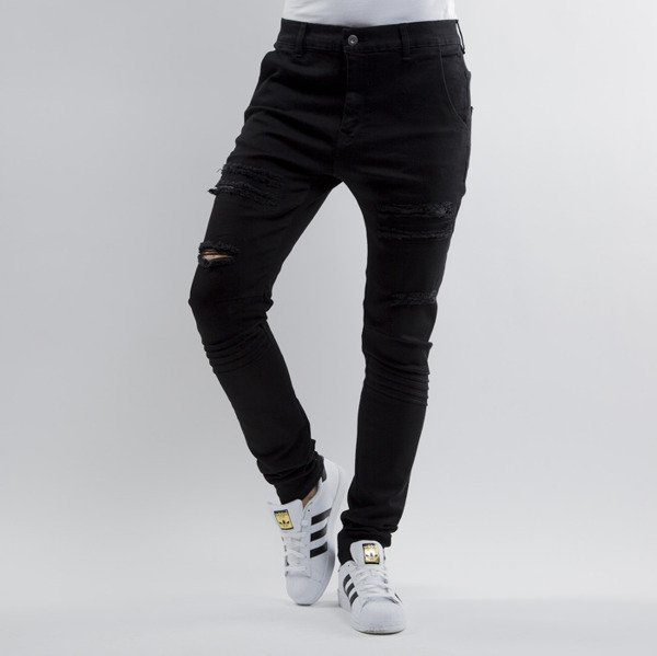 Urban Flavours jeans Ripped black WMNS