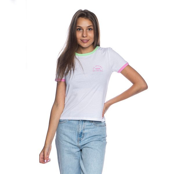 Vans Relly Bell WMNS T-shirt white