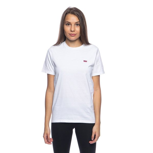 WMNS T-shirt Levi's SS Original HM Tee Cotton white