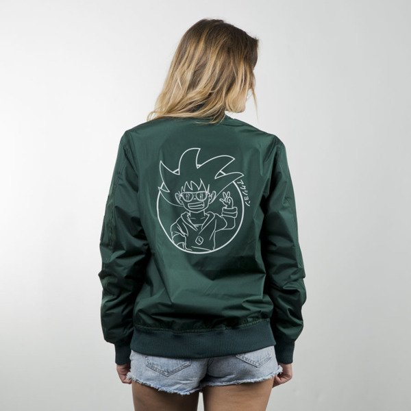 We Peace It Japan Bomber Jacket Action green WMNS