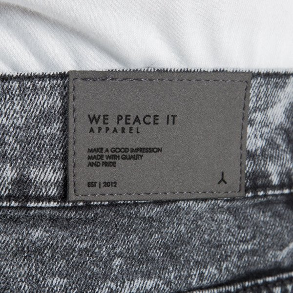We Peace It Jeans Marble marble