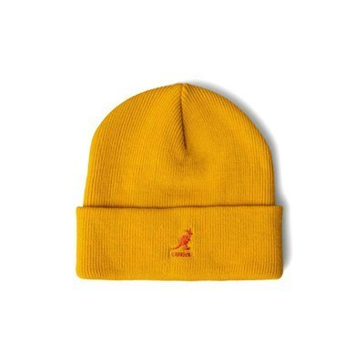 Kangol Acrylic Pull-On Beanie yellow