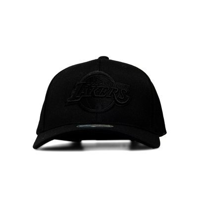 Mitchell & Ness snapback Los Angeles Lakers black Black/White Logo 110