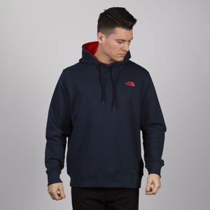 Bluza The North Face M Drew Peak PO LT urban navy / fiery red