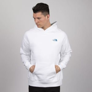 Bluza The North Face M Raglan Red Box Hoody tnf white / crystal blue