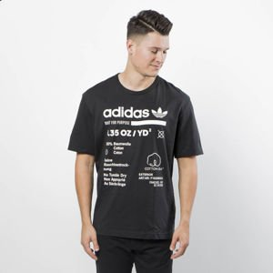 Adidas Originals koszulka Kaval Grp Tee black/clowhi DM2085