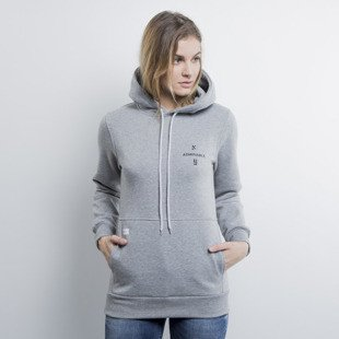 Admirable bluza sweatshirt New York hoody heather grey WMNS