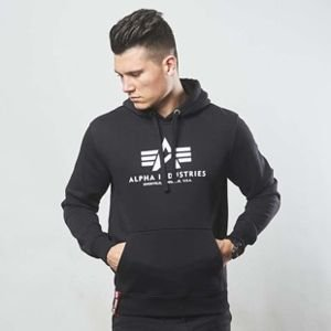 Alpha Industries bluza Basic Hoody black
