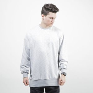 Backyard Cartel bluza sweatshirt Mineral Crewneck light grey heather QUICKSTRIKE