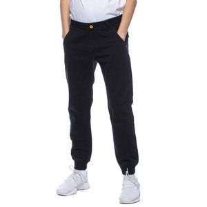 Backyard Cartel spodnie chino Band jogger fit black