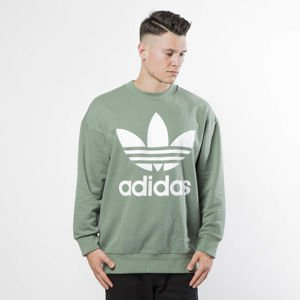 Bluza Adidas Originals Tref Over Crew trace green